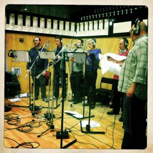 Angel recording session Vox
