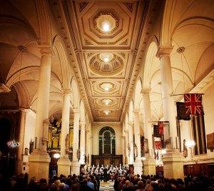 Vox St Sepulchre's gig