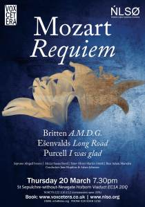 Mozart Requiem 20 March 2014